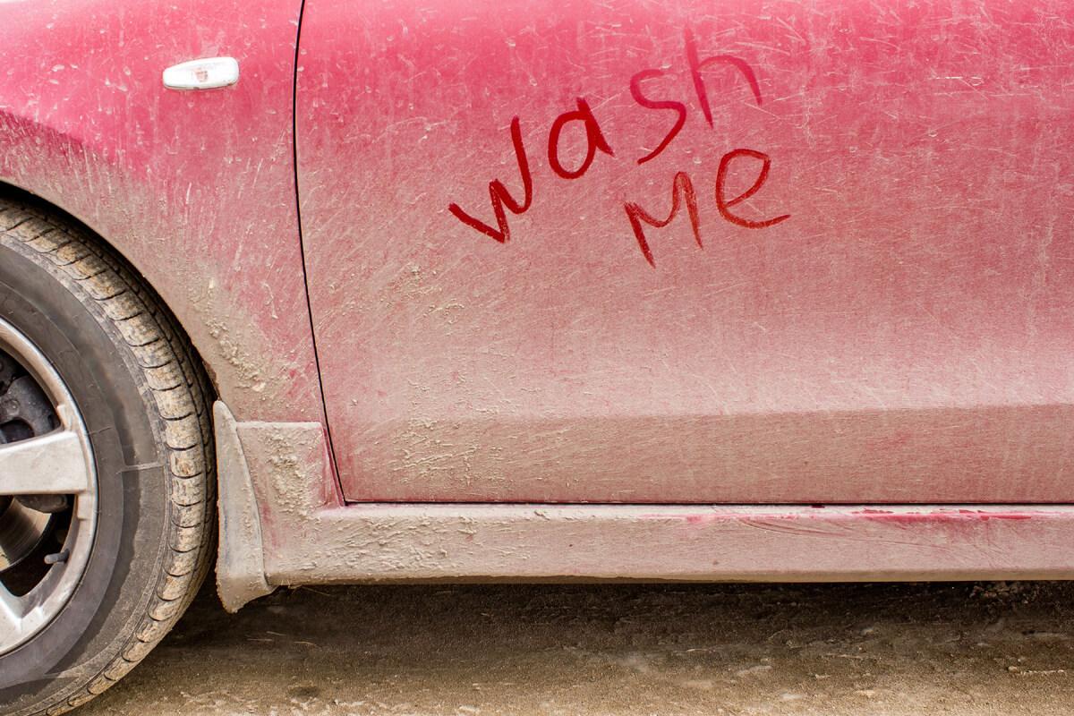 Dirty Car Needs A Car Wash